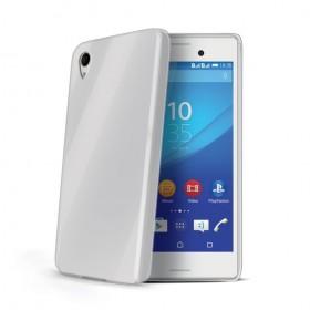 Celly Gelskin tagumine ümbris Sony Xperia M4 Aqua'le, läbipaistev