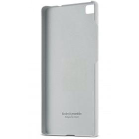 Huawei P8 Lite tagumine ümbris, hele hall
