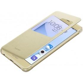Huawei aknaga book stiilis kaaned Honor 8'le, kuldne