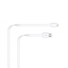 Just Wireless Apple Lightning - USB kaabel , valge 2m