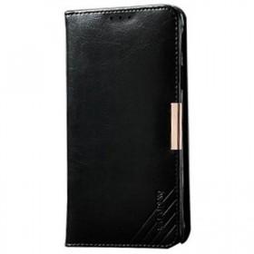 Kalaideng Royale mobiilikott Samsung Galaxy Note 4'le, must