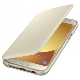 Samsung Galaxy J5 (2017) ümbris Flip Wallet Cover, kuldne