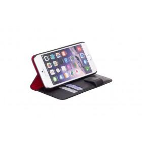 Redneck Wallet Folio pärisnahast book-style ümbris iPhone 6 / 6S'le, must