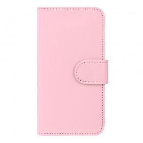 Redneck Prima-Wallet Folio kott Samsung Galaxy J3'le, roosa