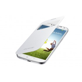 Samsung Galaxy S4 mobiilitikott S-View Cover, valge