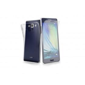 SBS Aero ümbris Samsung Galaxy A3'le, läbipaistev, koos ekraani kaitsekilega