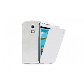 SBS flip kott Samsung Galaxy S4 minile, valge