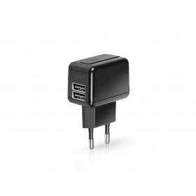SBS võrgulaadija 2 USB pesaga, 1A