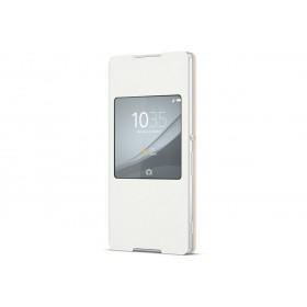 Sony Style Cover Window mobiiliümbris Sony Xperia Z3+'le, valge