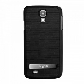Bugatti ClipOnCover Premium Brick mobiiliümbris Samsung Galaxy S4'le , must
