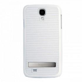 Bugatti ClipOnCover Premium Brick mobiiliümbris Samsung Galaxy S4'le , valge