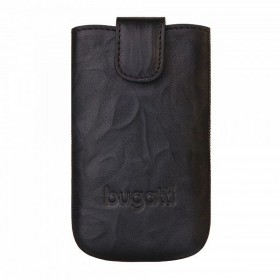 Bugatti universaal kott SlimCase leather unique carbon L