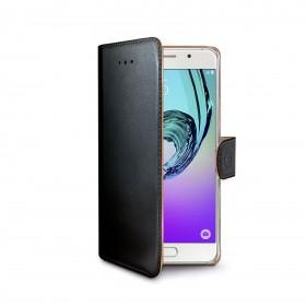 Celly Wally rahakott stiilis mobiiliümbris Samsung Galaxy A5 (2016), must