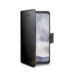 Celly Wally rahakott stiilis mobiiliümbris Samsung Galaxy S9, must