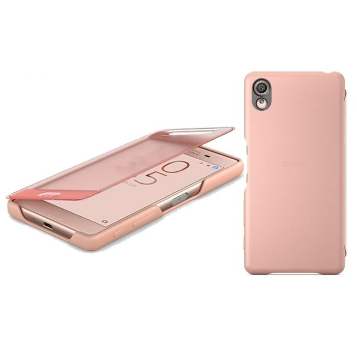 best service 2ed67 c2478 Telemark Hulgi - Sony Style Cover Touch ümbris Sony Xperia X'ile, roosa