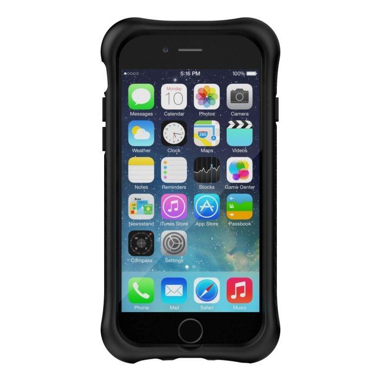 1a0be498bbf Ballistic Urbanite Case for Apple iPhone 6/6s in Black Carbon Fiber