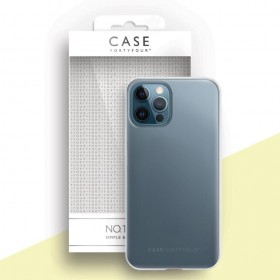 Case FortyFour No.1 for iPhone 12 / 12 Pro, transparent