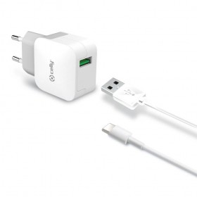 1ae1de568c9 Celly 2.4A TypeC Travel Charger ...